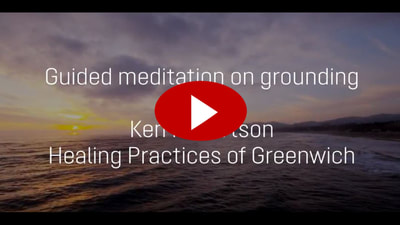 Unwind and get grounded with a guided meditation from Ken Robertson.